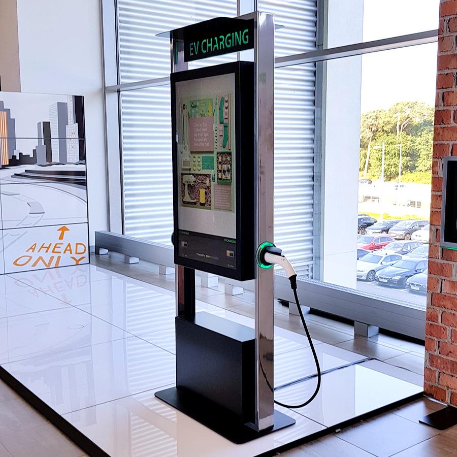 EV Charging kiosk concept