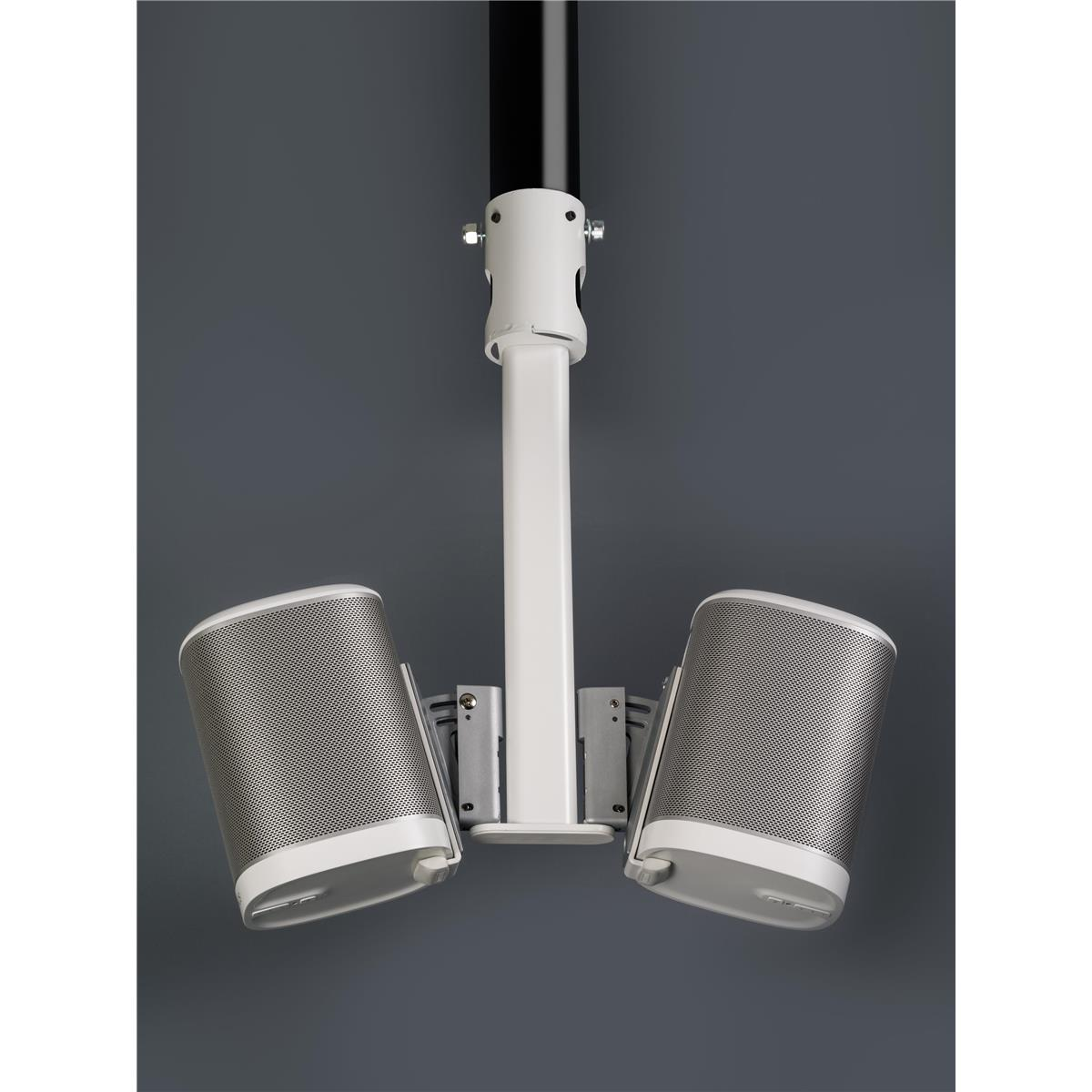SONOS PLAY1 Double ceiling mount with 50mm Pole Adapter-01.jpg