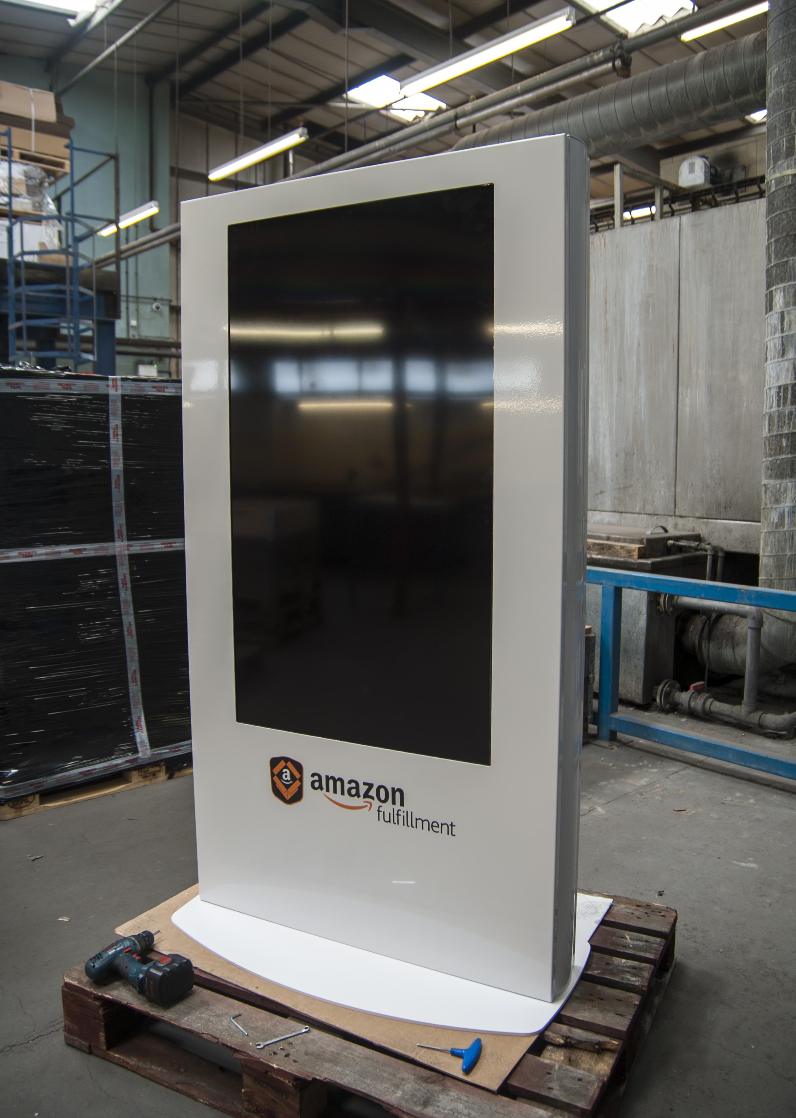 """55"""" Display Kiosk"""