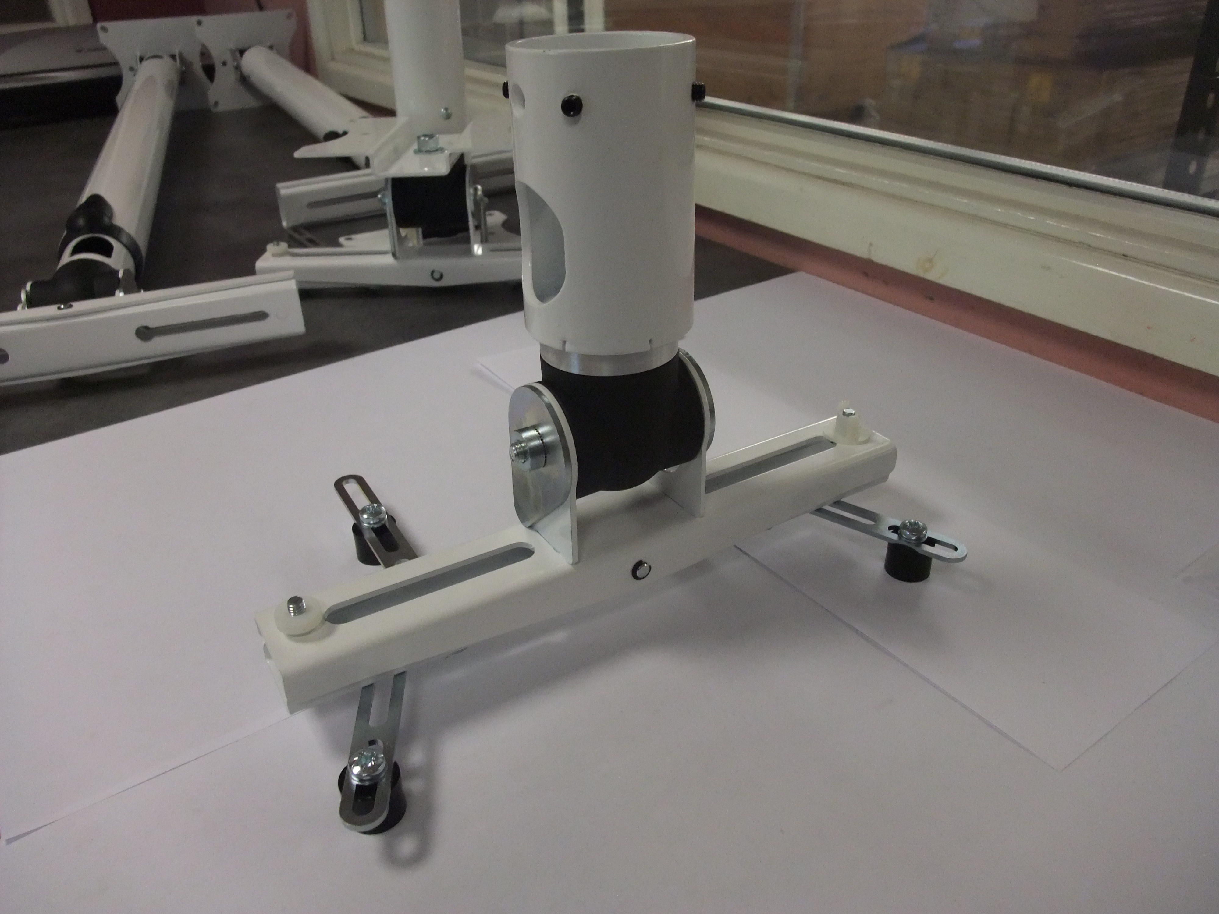 Projector mount for existing 50mm pole installs - 01.JPG