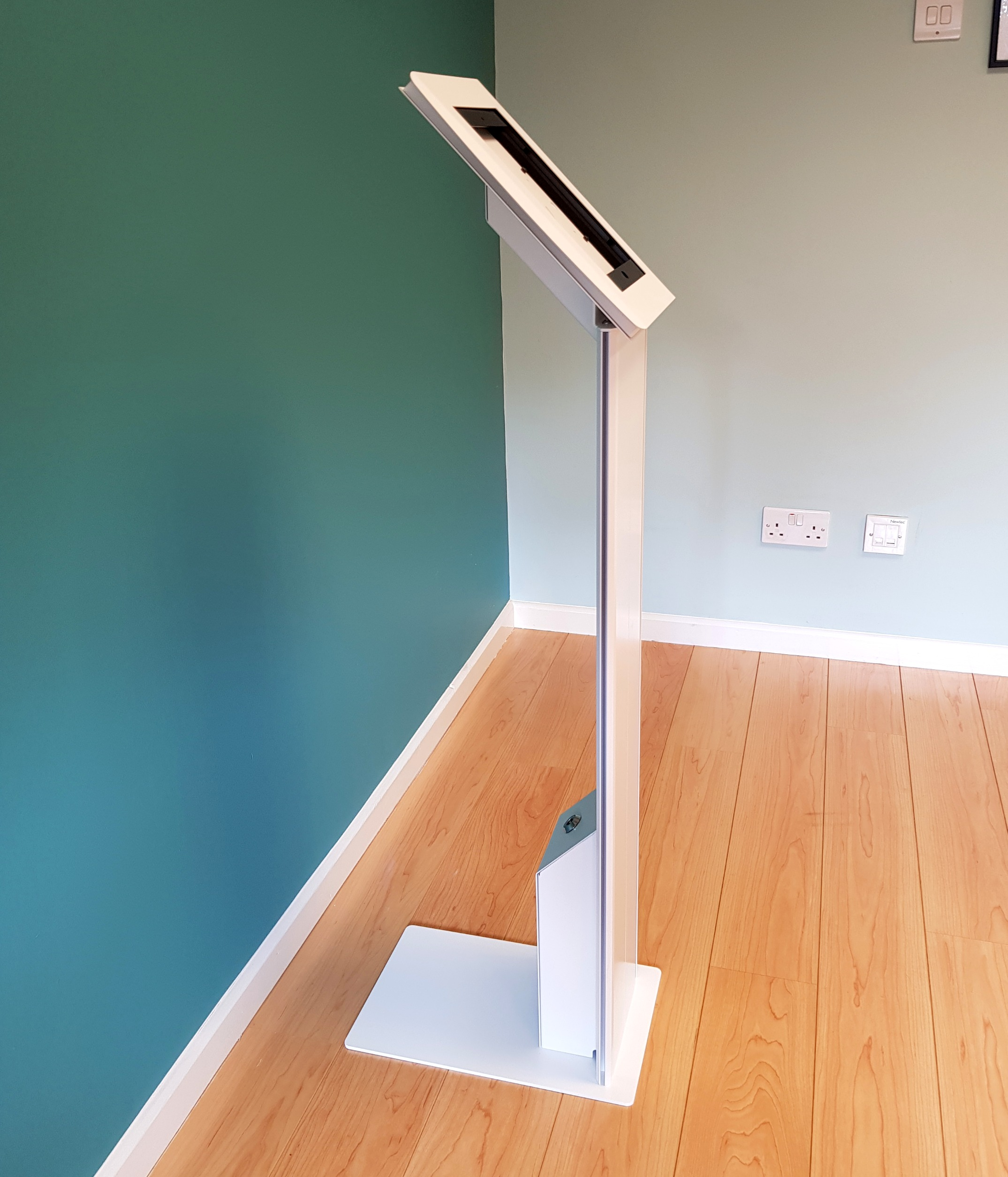 iPad enclosure stand