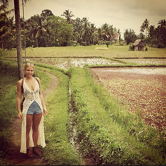 Rice paddy adventures 🌱
