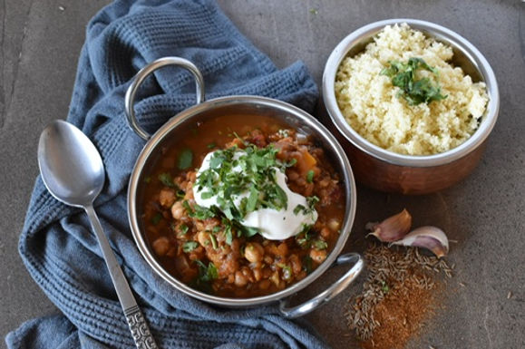 Moroccan Butternut & Legume Stew