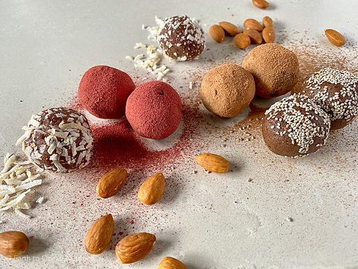 Almond Cocao Protein Balls