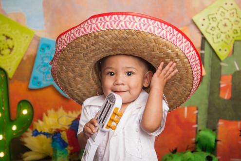 Disney's Coco Fiesta Themed Cake Smash Littleton Photographer