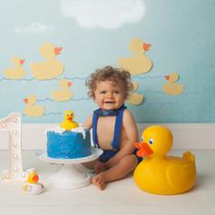 Rubber Duck Cake Smash