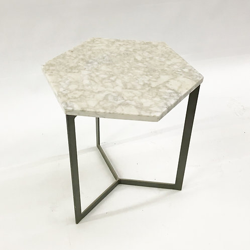 Marble octagonal table