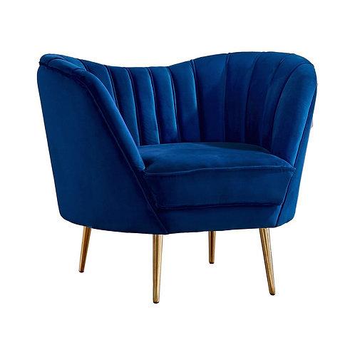 Quinn barrel chair sapphire