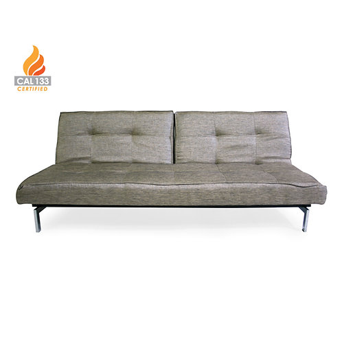 Splitback sofa graphite