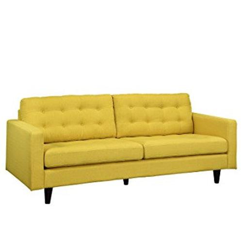Sunny yellow sofa