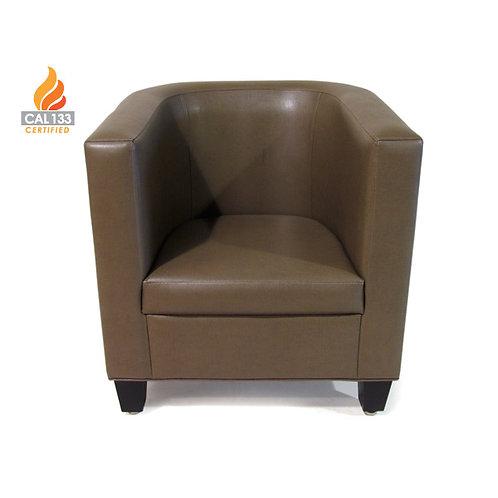Mocha side chair