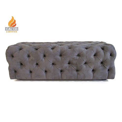 dorian tufted bench