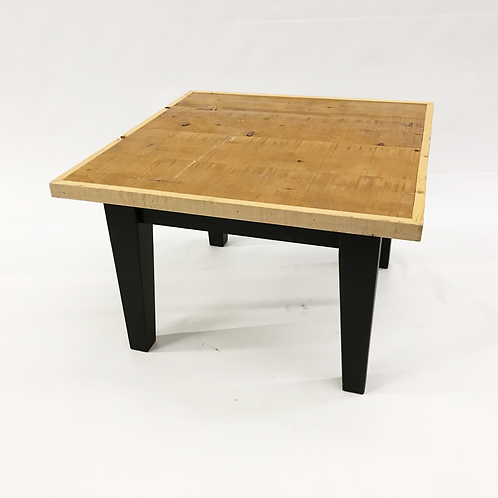 Square loft coffee table