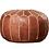 Thumbnail: pouf morrocan leather