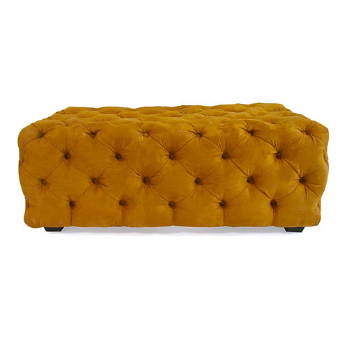 harvest tufted bench