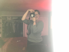 Kelsey snapping photos!