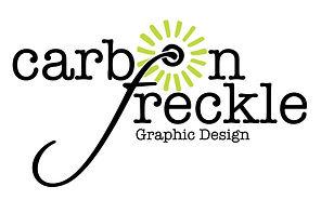 carbon freckle black dot graphic design-