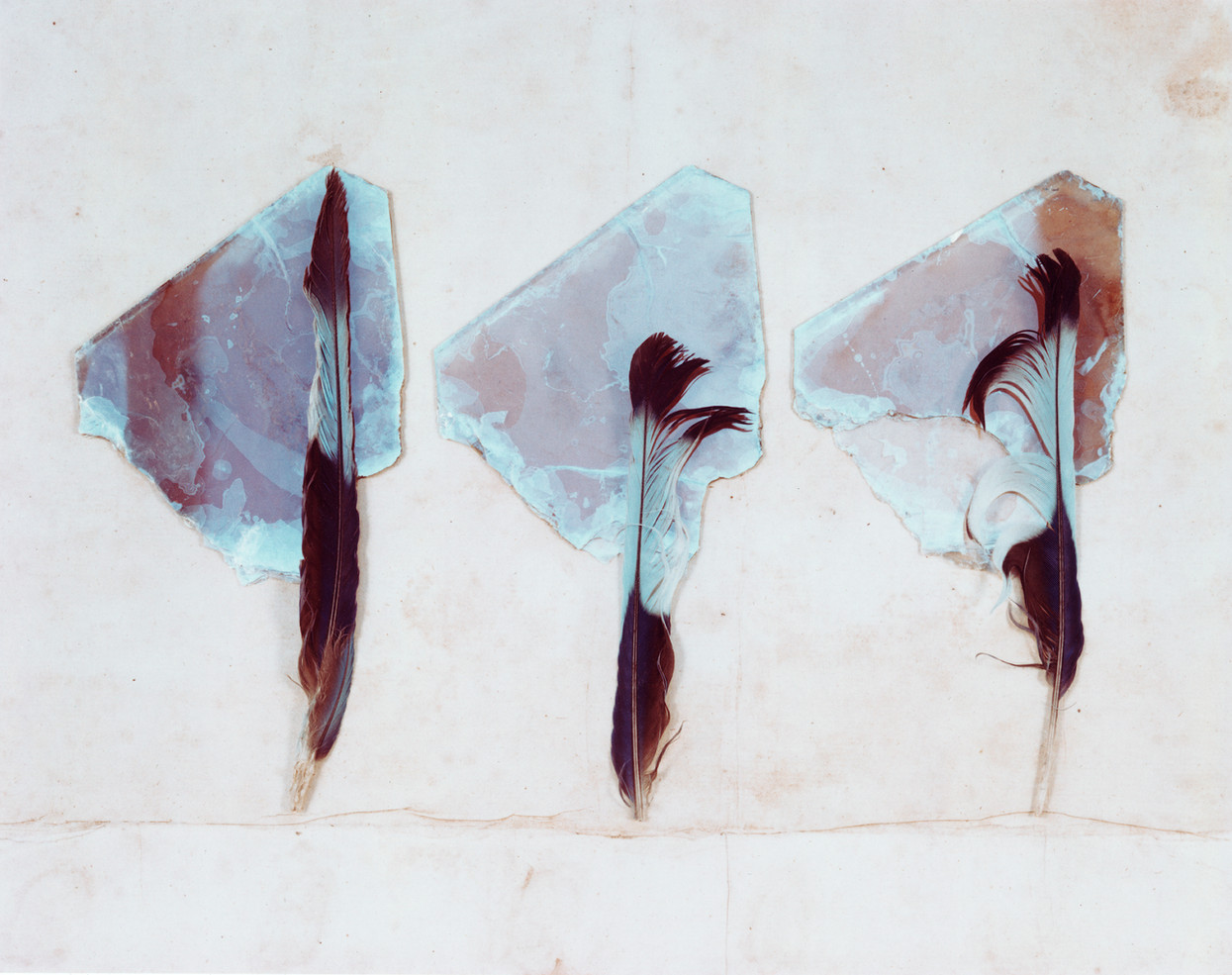 19_Three Feathers Three Crystals  1981.j