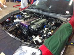 Toyota Supra Engine Installation