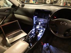 Lexus IS Multimedia Modifications