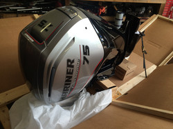 The Brand New Mariner 75hp Outboard