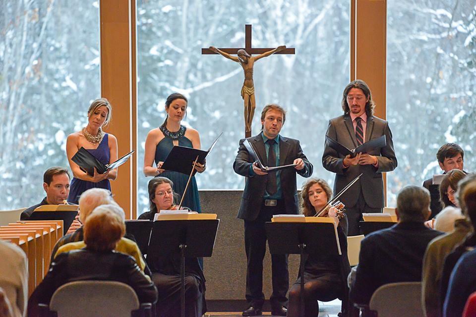 Bach Cantatas, St-Benoit-du-Lac