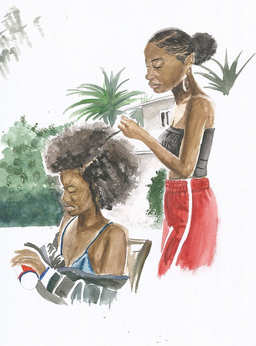 'Kokonsa' A4 Watercolour painting