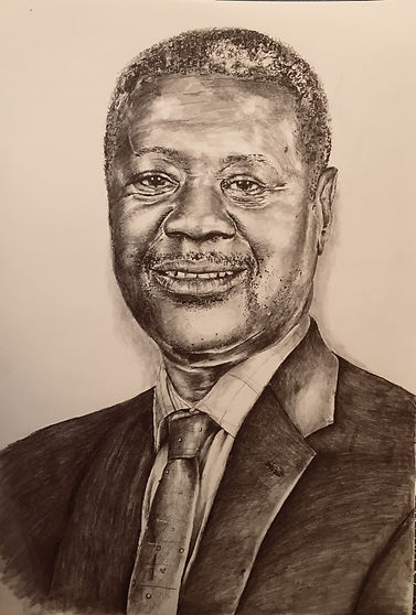 Danso pencil portrait commission