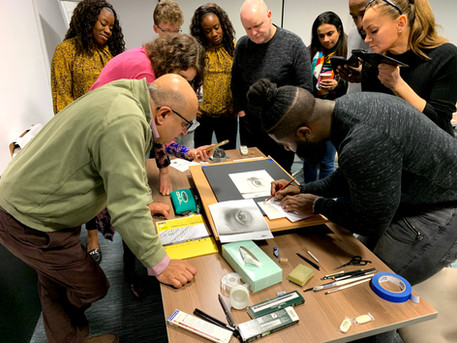 Workshop with Kelvin Okafor