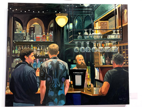 Royal academy of British artists: Mall Galleries visit