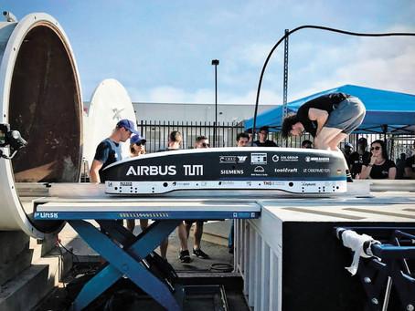 Des étudiants rêvent d'une capsule filant à 1000 km/h