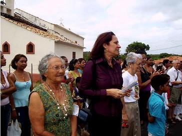 Morre a professora Carmelita Cuba aos 97 anos