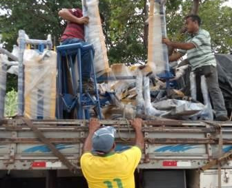 Chegam equipamentos para academias ao ar livre na sede, Cumã, Genipaúba e Maçaricó