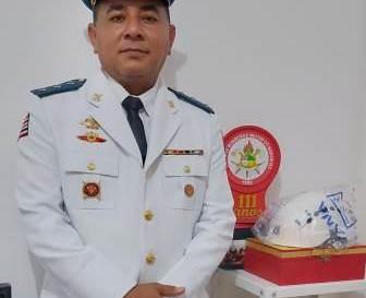 Tenente Firmino é promovido a capitão do Corpo de Bombeiros