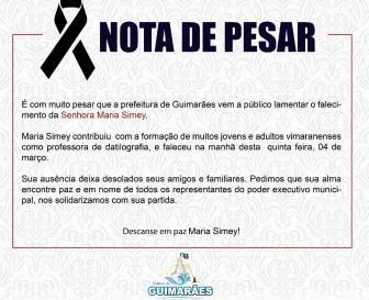Morre a professora Maria Simey