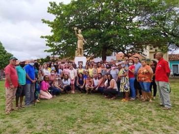 Guimarães inaugura monumento a Maria Firmina dos Reis