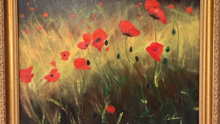 Red Poppies by Jill Lawson