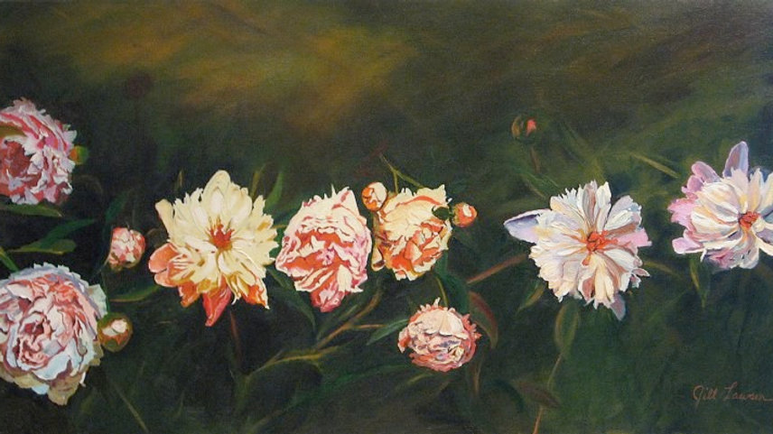 The Peonies by Jill Lawson