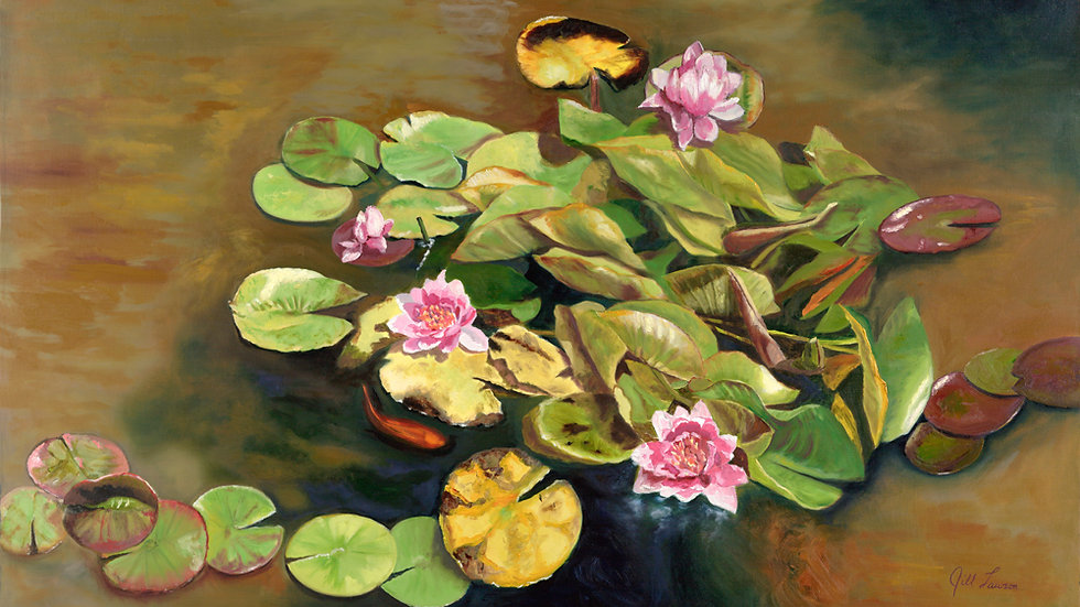 The Water Lilies by Jill Lawson