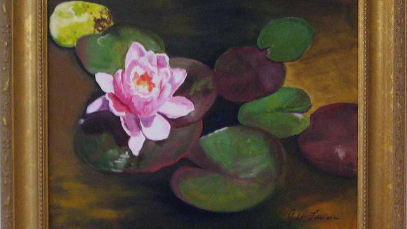 The Water Lilies III by Jill Lawson