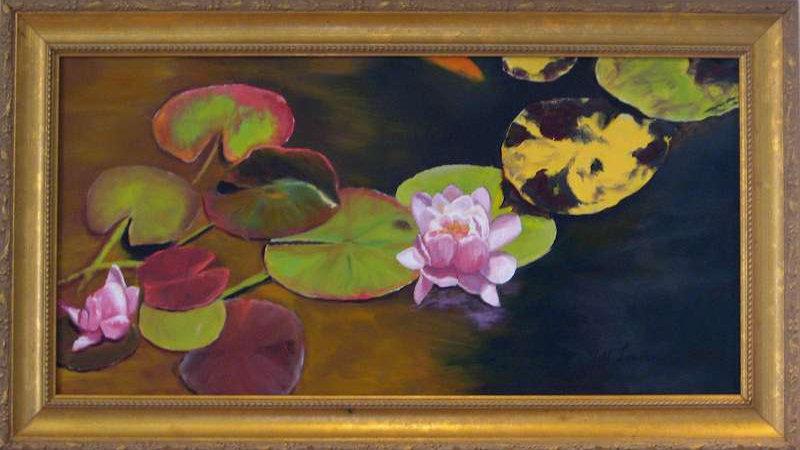 The Water Lilies II by Jill Lawson