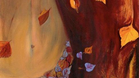 Autumn Lady by Jill Lawson