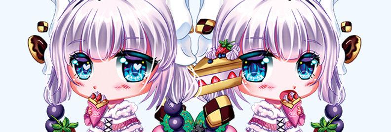 Kanna Kobayasahi dragon maid ms kawaii chibi cute keychain anime acrylic
