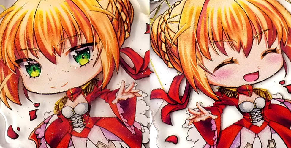 Nero Claudius Saber 2in Double-Sided Acrylic Charm Fate series FGO Anime