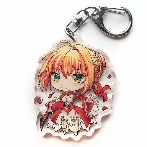 Nero Claudius Keychain