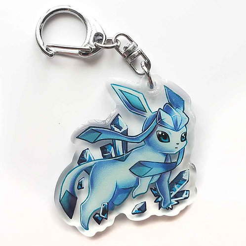 Shiney Glaceon Keychain