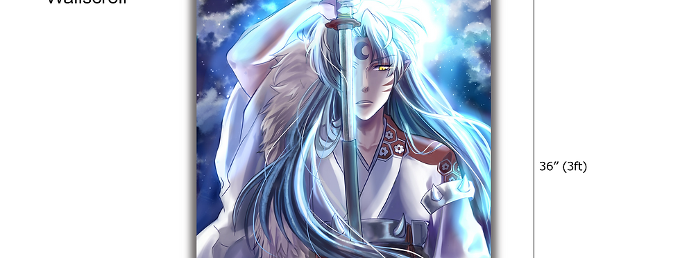 Sesshomaru Wall Scroll