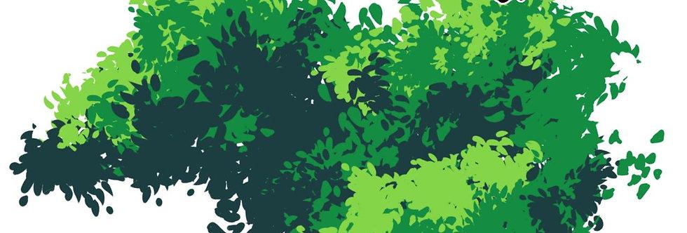 Ghibli Leaves Brush