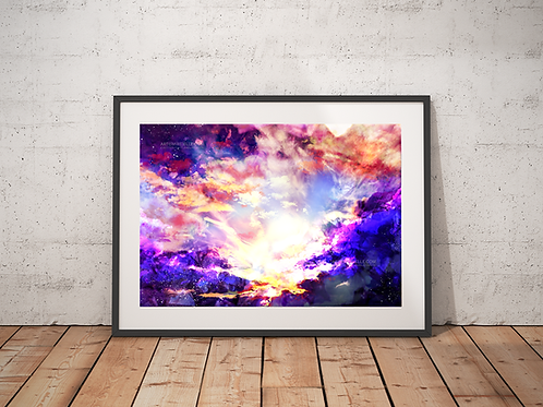 Amethyst Sunset Print