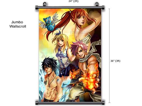Fairy Tail Anime Wall Scroll